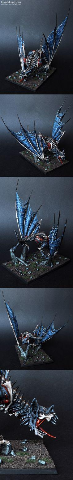 Vampire Counts Terrorgheist painted by Rafal Maj (BloodyBeast.com)