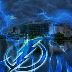 Go Bolts Tampa Bay Lighting, Bay Sports, Super Rugby, Hockey Teams, Dallas Cowboys, Thunder, Nhl, Lightning, World