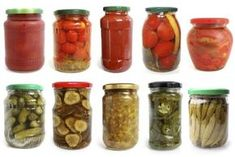 How to paint jar lids Healthy Recepies, Healthy Chicken Recipes, Healthy Foods To Eat, Antipasto, Chutney, Creme, Pickle Jars, Vegetable Nutrition, Vegetarian