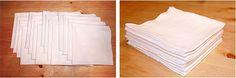Paper Towel Alternative - Flour-Sack Towels (cut and hemmed)