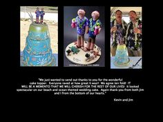 Gay Wedding Cake Topper custom made to order   Any professions or hobbies can easily be incorporated into a personalized wedding cake topper for you....Simply call us toll-free at 1-800-231-9814 or visit us at http://www.magicmud.com for more info.   $240   #gay #homosexual #wedding #cake #topper #same sex #2 men