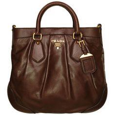 Prada Leather Shopper at Bag Borrow or Steal™