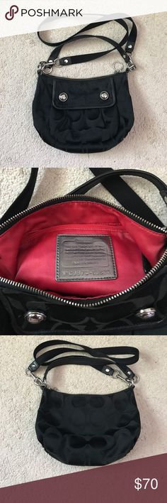 Black Coach Purse! Used a handful of times, very good condition! Coach! Coach Bags Crossbody Bags