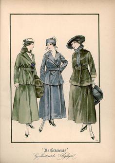 Gracieuse. Geïllustreerde Aglaja, 1915, aflevering 21, pagina 16/5