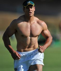 Rugby players are usually taller, greater built and a lot of them have many other great physical predispositions, and woman certainly like these type of people to date.