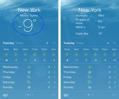 Weather app for iPhone comes with additional weather detail #tips #ios #iphone