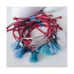 •Μάρτης• #ohsocutethings #handmade #jewelry #greekdesigners#greekdesigner#madeingreece #martis #martakia #marchbracelet#evileye #bracelet… Macrame Jewelry, Macrame Bracelets, Handmade Bracelets, Diy Jewelry, Tassel Necklace, Jewelery, Leather Bracelets, Jewelry Boards, Jewelry Patterns