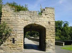 Warkworth - 14th Century Fortified Bridge © Michael Costigan