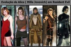 ALICE IN RESIDENT EVIL Milla Jovovich, Resident Evil Movie Series, Resident Evil Costume, Badass Movie, Alice Cosplay, Marvel Comic Character, Halloween Costume Contest, Horror Films, Cosplay Outfits