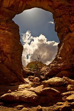 Window of Light Opens up ~ Arches National Park, Utah Parc National, National Parks, Beautiful World, Beautiful Places, Landscape Photography, Nature Photography, Places To Travel, Places To Visit, Photos Voyages