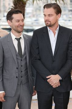 """Tobey Maguire &  Leonardo DiCaprio DiCaprio and Maguire have been best bros since they were child actors auditioning for the same parts in the late '80s. Rather than becoming competitors, they vowed to help each other get roles. And, while they were notoriously part of the """"Pussy Posse"""" in the early '90s, Leo and Tobey would argue their friendship is ..."""