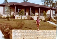Our Home in Mobile in 1978