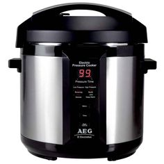 AEG Pressure Cooker A Speedy Pressure Cooker Will Give You More Time For Living. A perfect gift for Mother's Day! Best Pressure Cooker, Electric Pressure Cooker, Best Appliances, Small Appliances, Creative Wedding Gifts, Brushed Stainless Steel, Rice Cooker, Keep Warm, Kitchen Tools