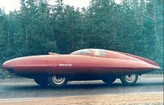 Russian concept car from the 1950s