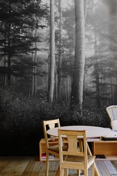 13 best dining room wall mural ideas images dining room walls rh pinterest com