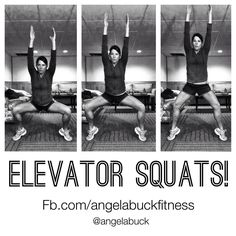 ELEVATOR SQUATS! 3 levels of squats on your tiptoes! Works, calves, quads, glutes, and core! www.facebook.com/angelabuckfitness If you're interested in redefining your life to become healthier, email me at redefinewithangela@gmail.com. I would love to help you! #redefine #redefinewithangela #redefined #summer #health #healthy #nutrition #cleaneating #goals #hearthealth #fitness #exercise #workout #fitspo #fitchick #weightloss #fitspiration #motivation #inspiration www.redefinewithangela.com