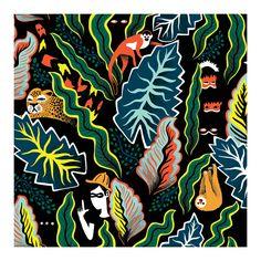 patternsandprints: jungle http://justemagazine.com/tag/marcos-nvarro/ http://www.marcosnavarro.es/index.html