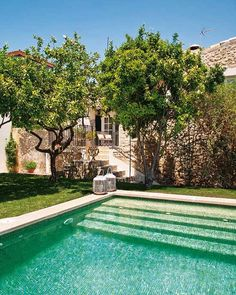 A gorgeous Spanish home, but I want the swimming pool and more out in a garden away from the house...