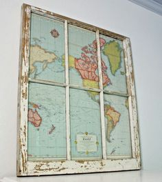 Window to the World: DIY Map Project