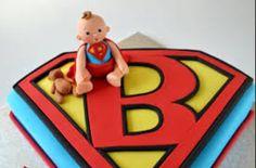 superman baby shower cake bella g 39 s sweet cakes pinterest baby