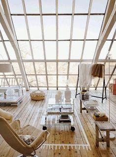 La Fabrique à Déco: Verrières et fenêtres fantastiques : l'architecture de lumière