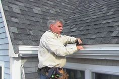 with general contractor Tom Silva | thisoldhouse.com | from How to Install Aluminum Gutters