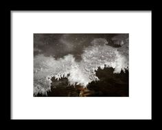 Cold Lace Framed Print By Marnie Patchett
