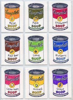 Warhol Art Trading Cards