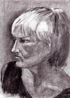 Bleistift - Porträt Frau 4 - v. skonea