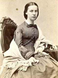 Civil War CDV Beautiful Young Lady in Shawl by Marshall Co of Boston   eBay