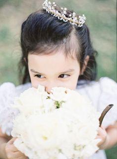 Kroontje voor bruidsmeisje