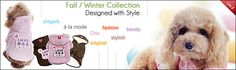 Your worldwide wholesale fashionable pet products supplier. Here, you will find a variety of upscale wholesale dog clothes, fancy personalized dog collars and gorgeous accessories to make your business grow. To purchase, you first need to register by creating a username and password. Once your account has been activated, you will be able to place your orders with us.