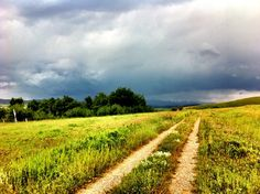 In the foothills of Alberta Canada watching a storm come in shot with my iPhone