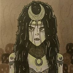 Enchantress  #superhero #villan #comic #power #comics #drawing #doodle #illustration #colour #ink #pens #art #sketch #instadaily #instamood #fanart #fun #happy #smile #cool #geek #enjoy #weekend #movies #film #marvel #suisidesquad
