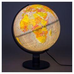 Waypoint Geographic Navigator II Illuminated 12 in. Desktop Globe - The Home Depot