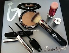 IT Cosmetics Hello Gorgeous Collection...love the Celebration Foundation & brush!