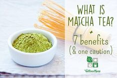 7 Benefits of Matcha Green Tea  There are many uses and benefits of Matcha green tea, an antioxidant rich tea with polyphenols that promote heart health and healthy weight.