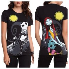 New Nightmare Before Christmas tee from Hot Topic  Here's. To you Cori Federspiel