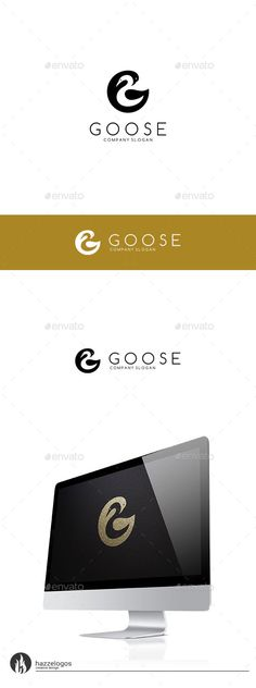 Goose  Letter G Logo — Vector EPS #company #website • Available here → https://graphicriver.net/item/goose-letter-g-logo/9754991?ref=pxcr