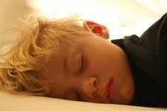 gorgeous sleeping boy
