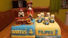 tort minionki piraci z Niwelandi