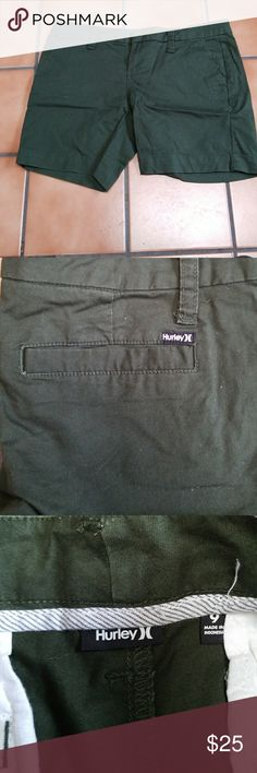 Hurley forest green boy shorts Hurley forest green boy shorts Hurley Shorts Bermudas