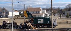 "Waste Management works together with communities to assist in the cleanup efforts after natural disasters. In Keansburg, New Jersey, also known as the ""Gem of the Bayshore"", WM is hauling at least three trucks of storm debris daily to help this community put Hurricane Sandy behind them."