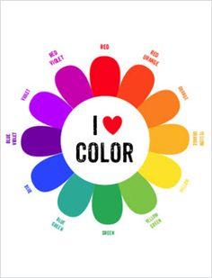 Freebie: Color wheel printable and MORE links..· Quilting | CraftGossip.com