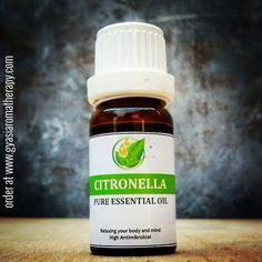 Manfaat citronella oil, selain pengusir serangga dan obat gosok, ternyata banyak juga.  Jual citronella essential oil di bandung