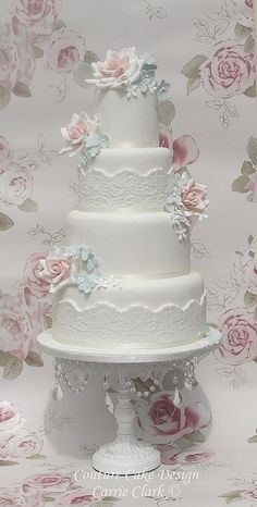 pink vintage look wedding cake | Recent Photos The Commons Getty Collection Galleries World Map App ...
