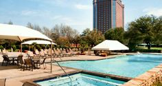 Hilton Anatole Hotel, Dallas, Tx - Verandah Outdoor Pool