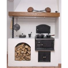 Wood stove Smålandspisen 1896 in cast iron - classic style late Welcome in to Sekelskifte.se and our wood stoves in classic style! Country Kitchen, New Kitchen, Country Life, Coal Stove, Cast Iron Stove, Large Oven, Pantry Design, Wood Burner, Modern Kitchens