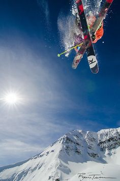 Skiing at Big Sky Resort in Big Sky, Montana
