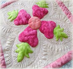 free motion quilting by Wendy Sheppard